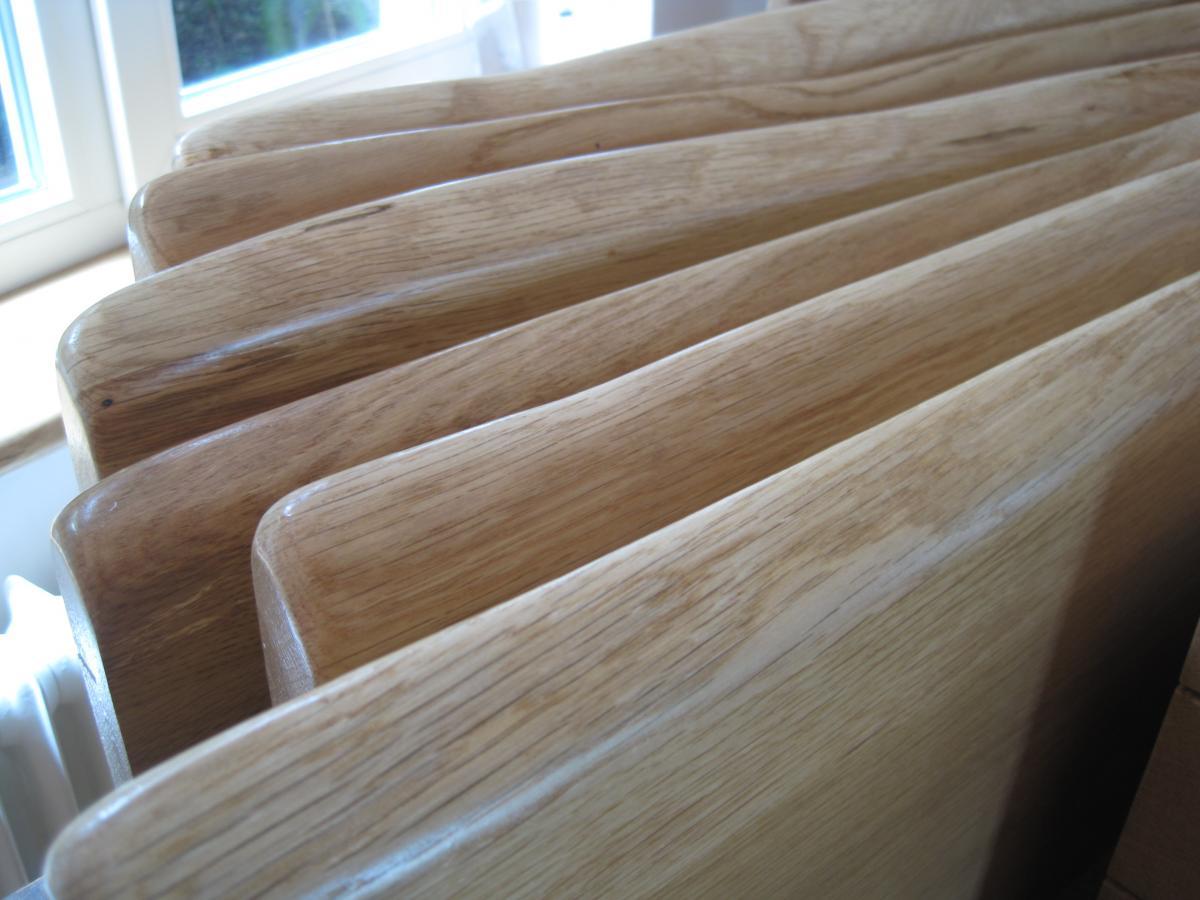 Holz-Fensterbänke mit Naturkante, EICHE - mIRo