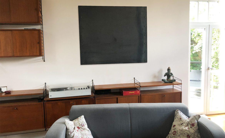 Metall Wandpaneel, Stahl-Fliese, Wandbild, Wanddekoration, Industriedesign