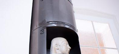 stahlrohr schrank regal säule factory-design