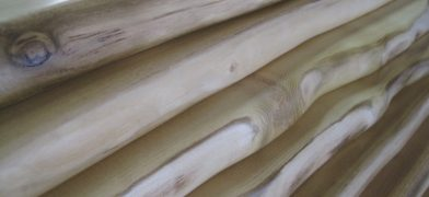 Holzfensterbänke mit Naturkante, Robinie