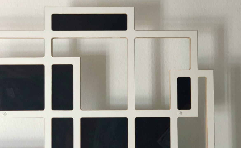Design Deckenlampe Geometrische-Skulptur Midcentury-Style