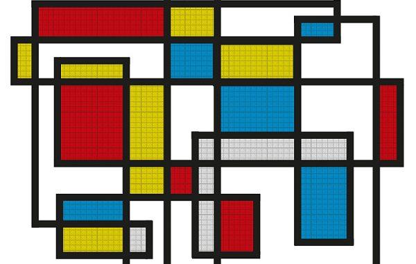 Design Deckenleuchte von mIRo mit unendlicher Linie, Wohnzimmer-Installation