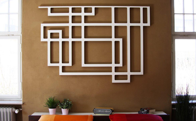 Design Wandskulptur Wand-Dekoration Wandbehang