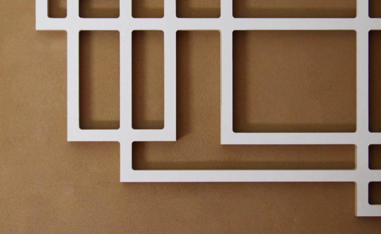 miro – Designer Wandskulptur Quaderlandschaft