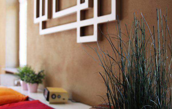Wandskulptur – Quaderlandschaft als Wanddekoration