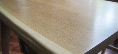 Eiche, Tischplatte beste Güte, lackiert