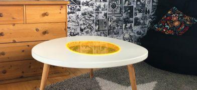 Fried-Eggs-Series, Table – Spiegelei-Tisch, Wohnzimmertisch, Couchtisch